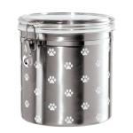 OGGI Acrylic Paw Prints 1 Gallon Treat Jar