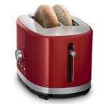 KitchenAid Empire Red 2-Slice Long Slot Toaster with High Lift Lever