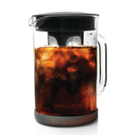 Primula Pace Borosilicate Glass and Black 51 Ounce Cold Brew Coffee Maker