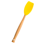 Le Creuset Craft Series Soleil Silicone and Wood Spatula Spoon