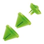 Mastrad Deco Green Veggie Slicer with 2 Blades