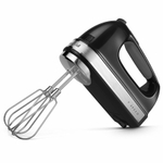 KitchenAid Onyx Black 7-Speed Hand Mixer