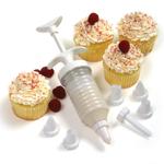 Norpro 9 Piece Cupcake Decorating Icing Set