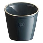 Emile Henry Blue Flame Ceramic 5.5 Inch Utensil Pot