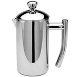Frieling Stainless Steel Insulated French Press, 4 Cup