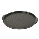 Emile Henry Charcoal Ceramic 12.6 Inch Medium Pizza Stone
