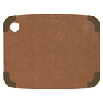Epicurean Nonslip Series Nutmeg with Brown Corners 11.5 × 9 Inch Cutting Board