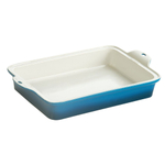 Lodge Blue Stoneware 9 x 13 Inch Baking Dish