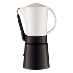 Aerolatte Cafe Porcellana Black 11 Ounce Espresso Maker