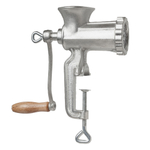 Fante's Cousin Sandro's Cast Iron Stainless Steel Meat Grinder