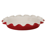 Rose Levy Beranbaum Rose Ceramic 9 Inch Perfect Pie Plate