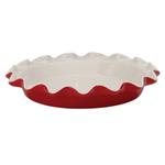 Rose's Levy Beranbaum Rose Ceramic 9 Inch Perfect Pie Plate