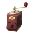 Zassenhaus Santiago Mahogany Stained Beechwood Manual Coffee Mill