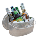 Crafthouse by Fortessa Stainless Steel 12 Inch Ice Bucket with Lid