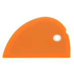 Messermeister Orange Silicone Bowl Scraper