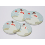 Range Kleen Snowman Burner Cover, Set of 4