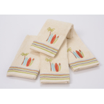 Saturday Knight Limited Gone Surfing Cotton Hand Towel, Set of 4