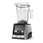Vitamix Ascent A3500 Brushed Stainless Steel Blender with 64 Ounce Low-Profile Container