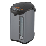 Zojirushi Micom Silver Dark Brown 4 Liter Water Boiler and Warmer