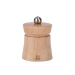 Peugeot Baya Natural Beech Wood 3 Inch Salt Mill