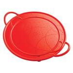 Kuhn Rikon Red Silicone 2 Piece Splatter Guard Set