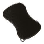 Kuhn Rikon Black Silicone Stay Clean Scrubber