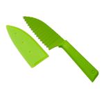 Kuhn Rikon Colori+ Green 5 Inch Krinkle Knife
