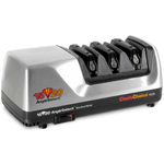 Chef's Choice 1520 Brushed Metal AngleSelect Electric Knife Sharpener