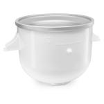 KitchenAid KAICA White 2 Quart Ice Cream Maker Bowl for KSM6573C and KSM7 Stand Mixers