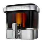 KitchenAid KCM4212SX Glass and Stainless Steel Cold Brew Coffee Maker with Coffee Scoop