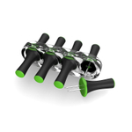 T-Fal Ingenio Black with Green Corn Skewer, 4 Pairs