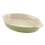 Typhoon Green Vintage Oval Baking Dish 12.5x8.5