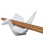 Helen Chen Porcelain Peace Crane Chopsticks Rest