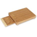 Island Bamboo Solana Chop N Serve Cutting Board, 15 x 11 Inch