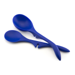 Rachael Ray Blue Lazy Spoon and Ladle Set
