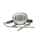 Taylor Digital Programmable Thermometer with Dual Probes