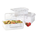Oggi White Snap 'N Steal Storage Container 3 Piece SetSet