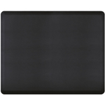 WellnessMats Black Standard Anti-Fatigue Mat, 5 x 4 Foot