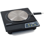 Max Burton #6050 Deluxe Stainless Steel Induction Cooktop and Interface Adapter Disk Set