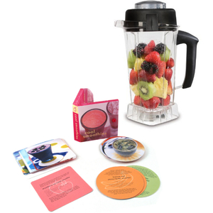 Vitamix Tritan Copolyester 64 Ounce Blender Container with Free Smoothie Recipe Book