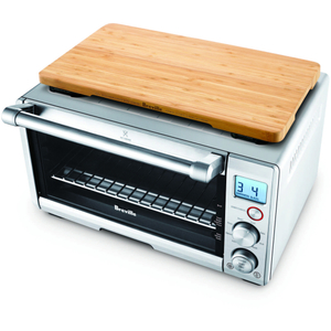 Breville BOV650XL Compact Smart Oven with Bamboo Cutting Board