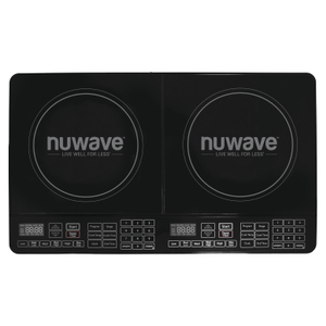 NuWave 11.5 Inch Double Burner Precision Induction Cooktop