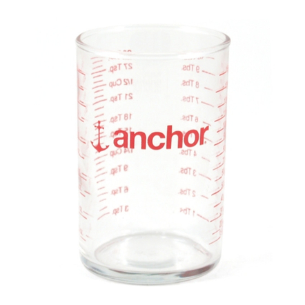 Anchor Hocking Graduated Measuring Glass, 5 Ounce