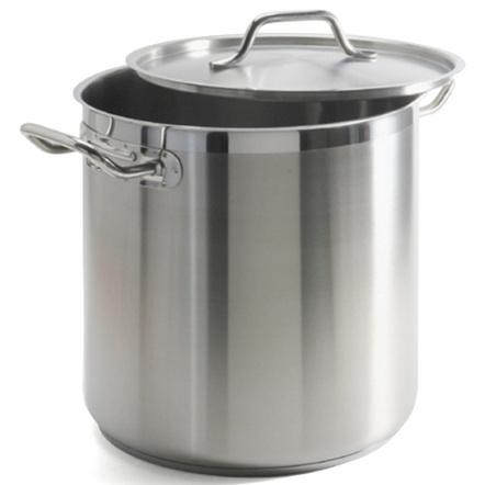 Danesco Stainless Steel Deep Gastronome Pro Stockpot 17.2 Liter