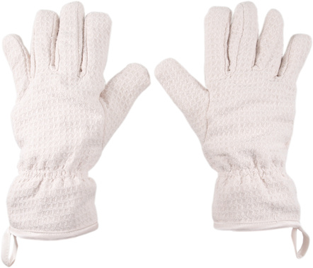 Envision Cream Microfiber Dish Drying Gloves, 1 Pair