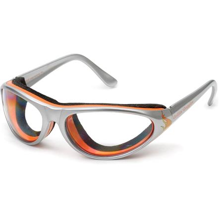 RSVP Gray and Orange Barbecue Grillin' Goggles