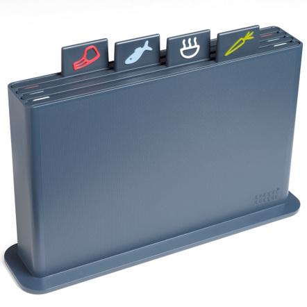 Joseph Joseph Index Advance Dark Grey Chopping Board Set