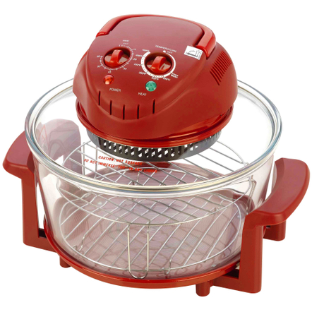Fagor Red Halogen Electric Tabletop Oven