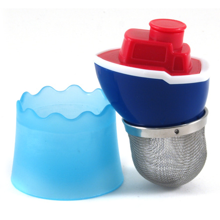 RSVP 18/8 Stainless Steel Float My Boat Tea Infuser