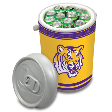 Picnic Time Louisiana State University Tigers Mega Can NCAA Insulated Cooler, 5 Gallon